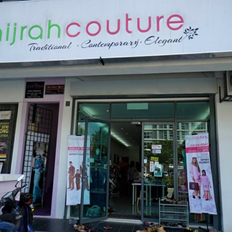 Shopping baju raya di Hijrah Couture !