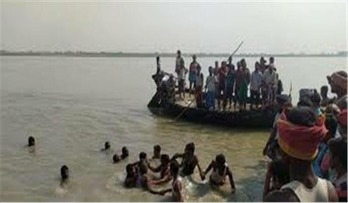 मिर्जापुर विंध्याचल में 18 यात्रियों से भरी नाव गंगा में डूबी |Uttar Pradesh Latest Update