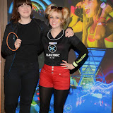 OIC - ENTSIMAGES.COM - Katie Malcolmson and Charli Glass at the Electric Run 2015 in London 2nd May 2015 Photo Mobis Photos/OIC 0203 174 1069