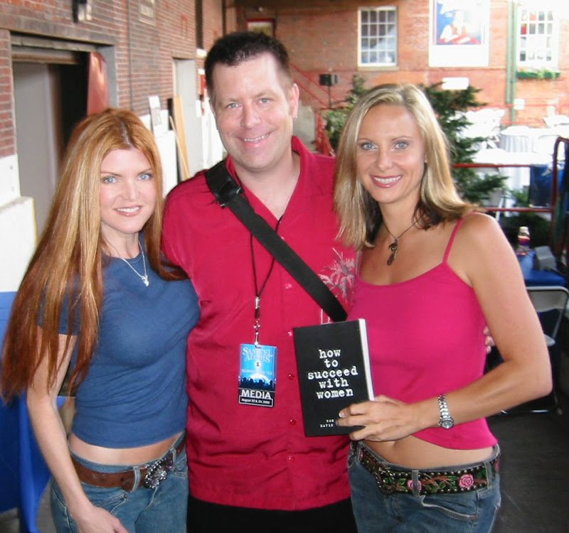 David Copeland With Playboy Tvs Heather Grannath And Juli Ashton, David Copeland