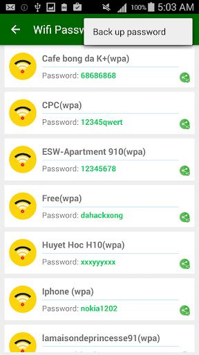 Wifi Password [Root] 2.8.3.1 screenshots 4