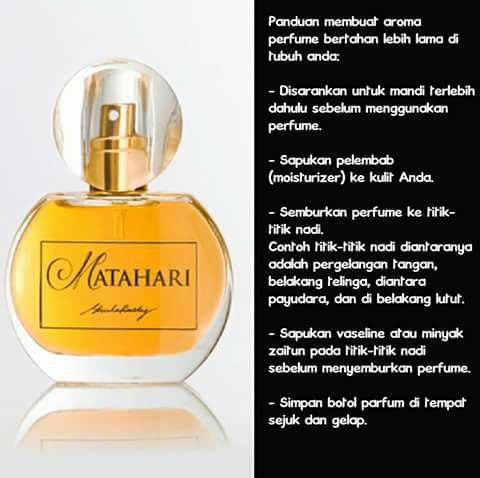 Wanginya perfume MATAHARI by SheilaRusly.