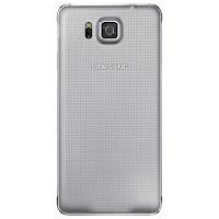 Samsung Galaxy Alpha (rear)