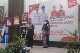Serah Terima Jabatan Bupati Kabupaten Kotawaringin Timur (Kotim) Berjalan Lancar