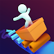 Ragdoll on wheels: falling stickman & rolling ball - Androidアプリ