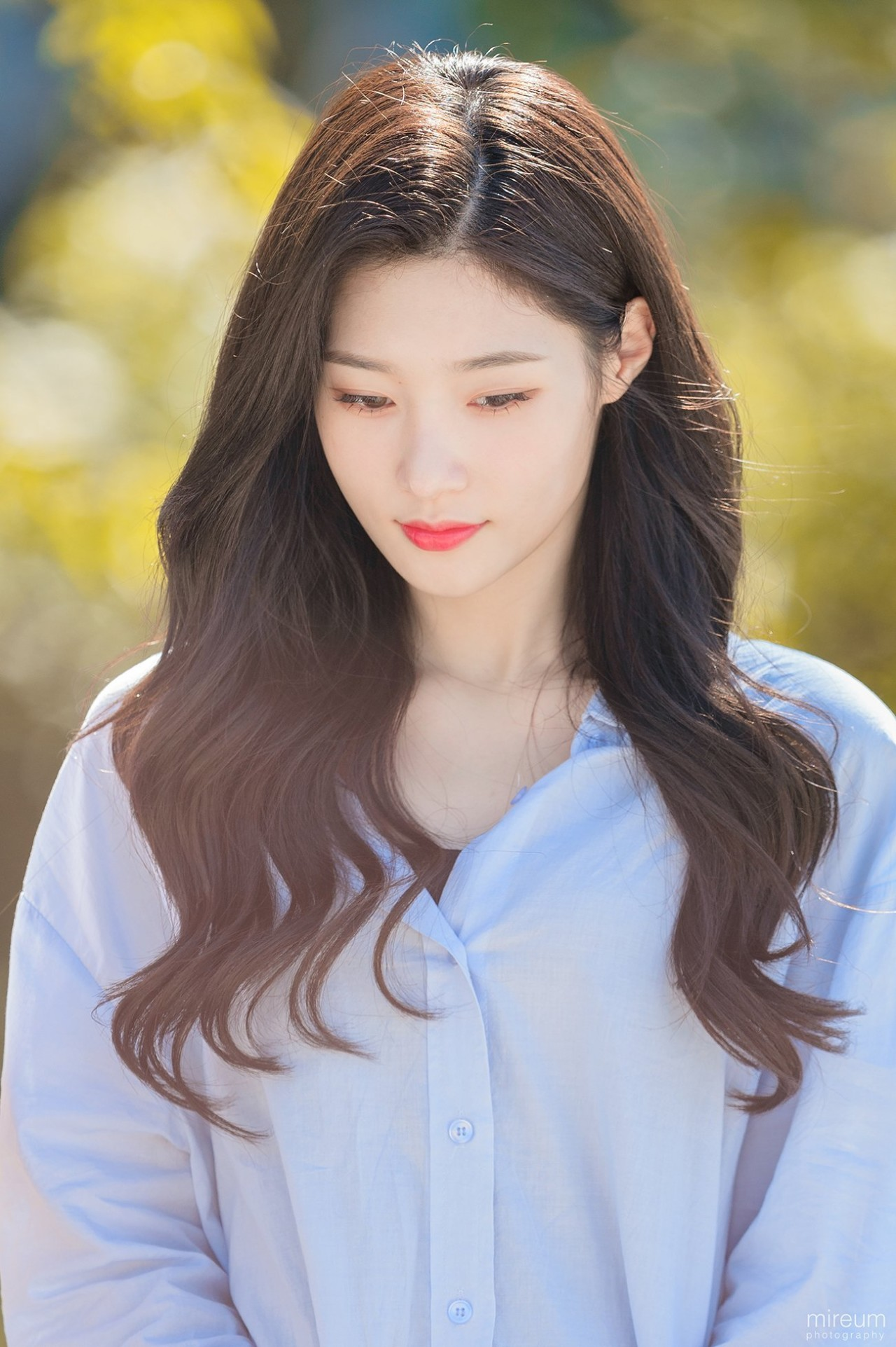 dia jung chaeyeon faint cold 1