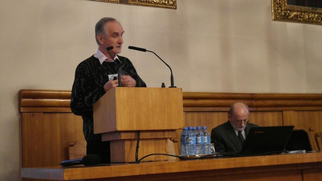 Konferencja Metody geofizyczne w archeologii polskiej (fot. J. Karmowski, K. Kiersnowski) - geof%2B%252832%2529.JPG