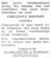 Monden, Gerardus Rouwadvertentie.jpg