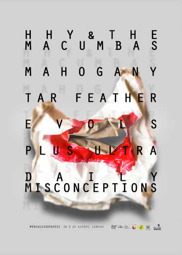 TRC ZigurFest | HHY & The Macumbas, Evols, Mahogany, Plus Ultra, daily misconceptions e Tar Feather confirmados