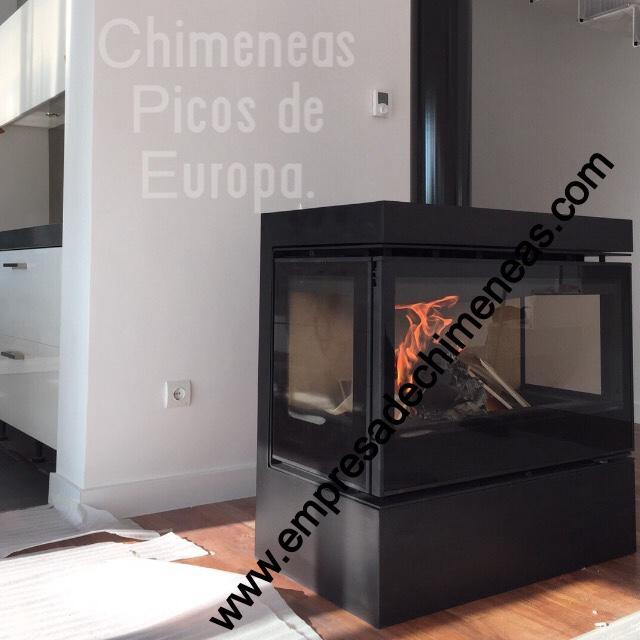 Chimeneas picos de europa insert de le a para chimenea for Cassettes para chimeneas