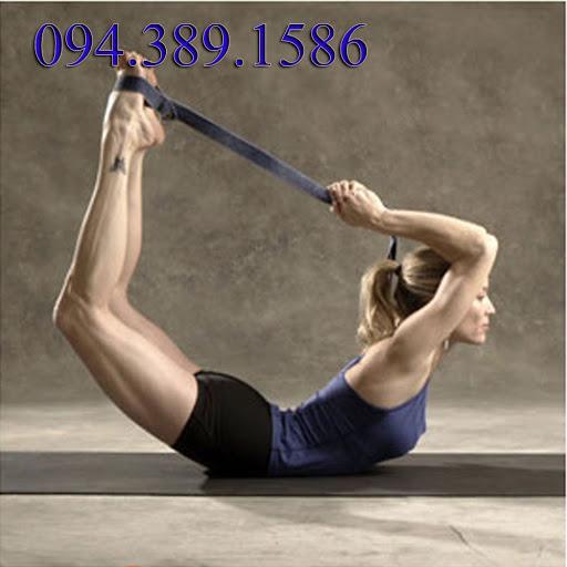 Dây đai hỗ trợ tập Yoga, dùng cho các trường hợp cơ bản và nâng cao.