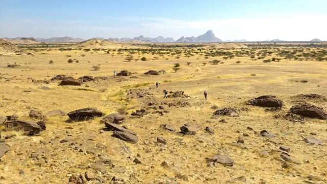 Métodos estatísticos projetados para cosmologia revelam distribuição de tumbas no Sudão