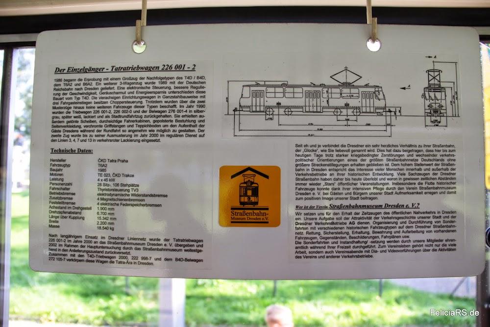 Ein Paar Einzelheiten zur Tatra 226001-2 mit der wir unterwegs waren.