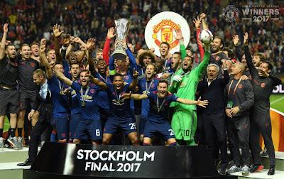 Manchester United Juara Liga Europa