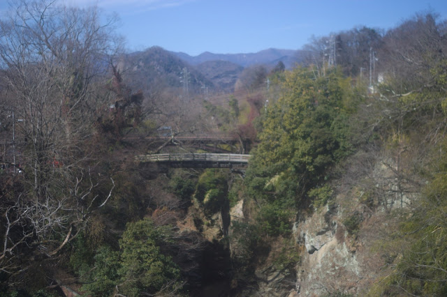 早春の猿橋