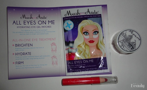 April 2016 Beauty Box Five 2