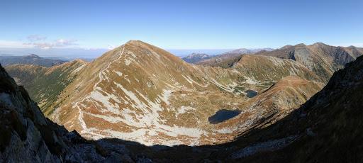 Volovec a Západné Tatry z Ostrého Roháča