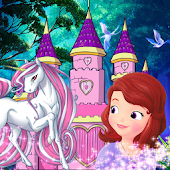 Princess Sofia's adventure with horse