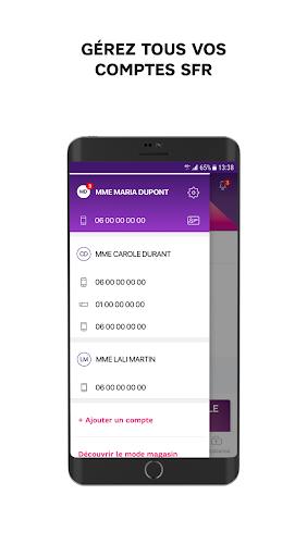 SFR & Moi Android App Screenshot