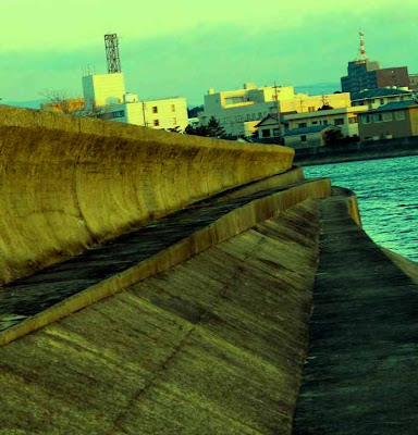 Japanese Tsunami Wall, Tsu-Shi