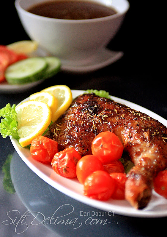 Dari Dapur Ct Ayam Panggang Ala Kenny Rogers