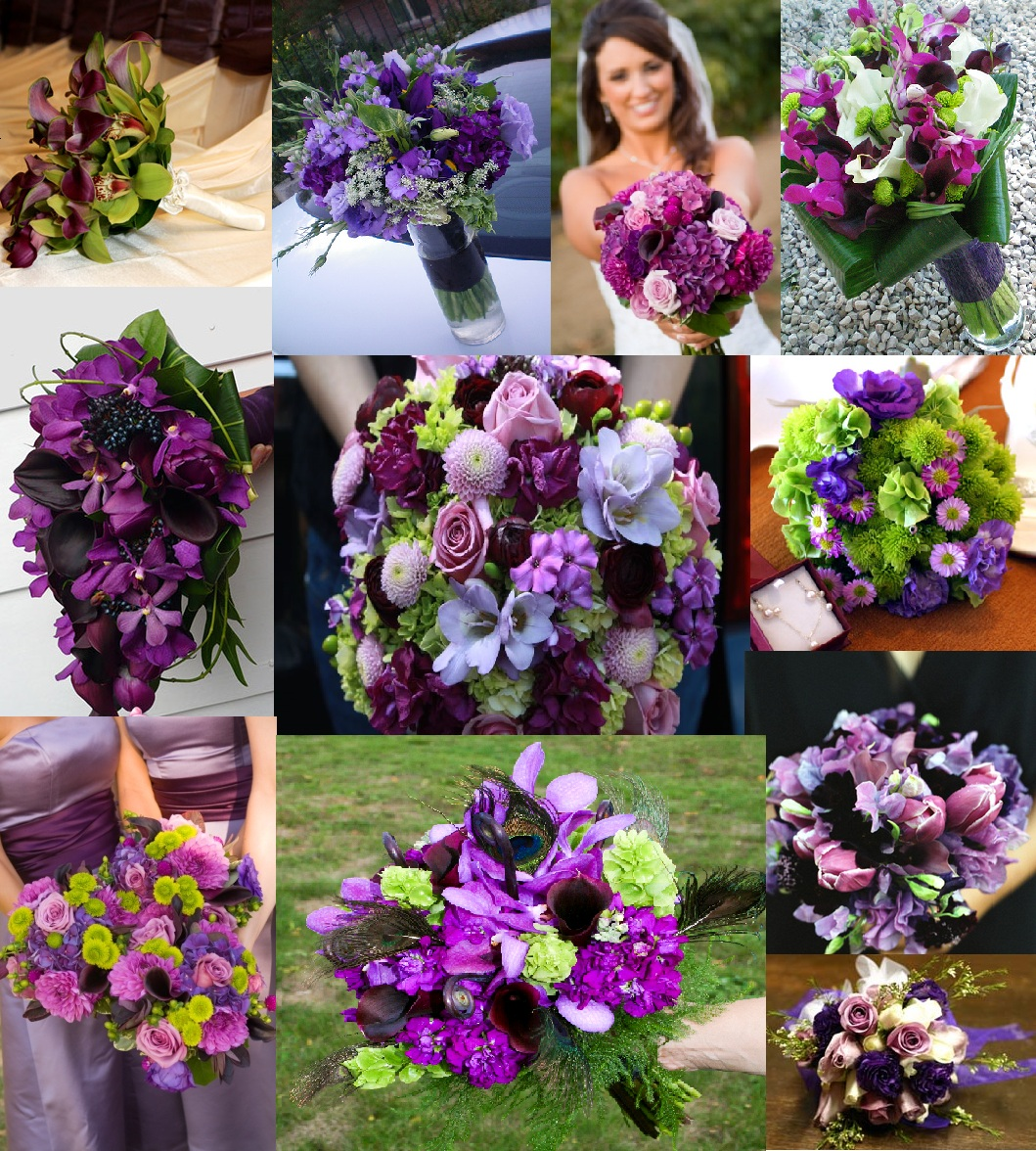 Best Ideas For Purple And Teal Wedding: Milda's Blog: Most Beautiful Bridal Gown