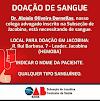 Jacobina: Dr Aloísio Dornellas está internado com Coronavírus e colegas pedem doação de sangue