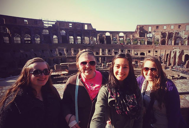 Colosseum - Nicole Lottig: #StudyAbroadBecause... It will open up your mind to so many new things!