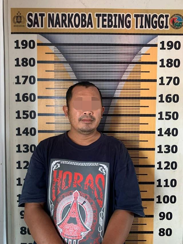 Buruh Bangunan Miliki Sabu, Ditangkap Personil Polsek Dolok Merawan