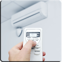 Air conditioning controller icon