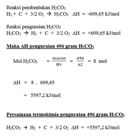 Contoh Soal Dan Pembahasan Termokimia Post 2 Chemistry Is Fun