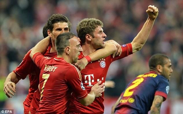 Goleada al Barcelona