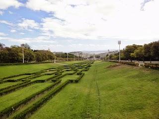 Parc Eduardo VII à Lisbonne
