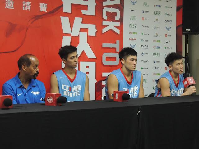 中華白在瓊斯盃第二場比賽以79比74擊敗埃及。(陳筱琳/攝)