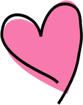 funky-pink-heart
