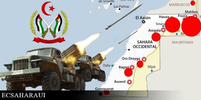 Según la defensa saharaui, el ejército marroquí ha sufrido graves pérdidas en vidas y material bélico.