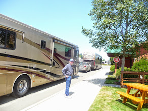 Photo: Checking in at The Mill RV Park