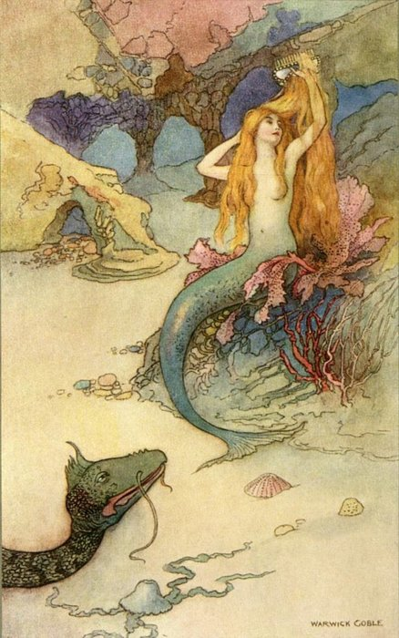 Dragon Mermaid, Undines