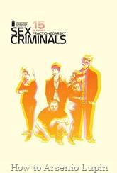 Actualización 28/02/2018: Regresa Sex Criminals con su numero #15 por Heisenberg, Nomi Sunraider y Brunette para Infinity Comics.