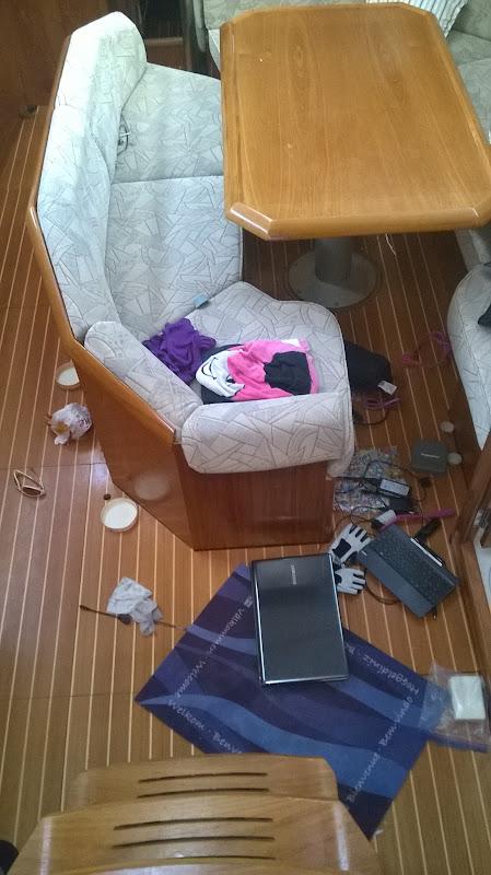 Petites anecdotes de vie sur le bateau