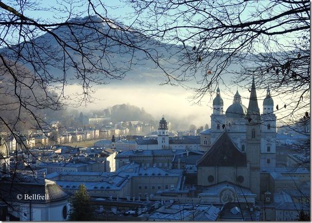 Salzburg mit Nebelschwade 4