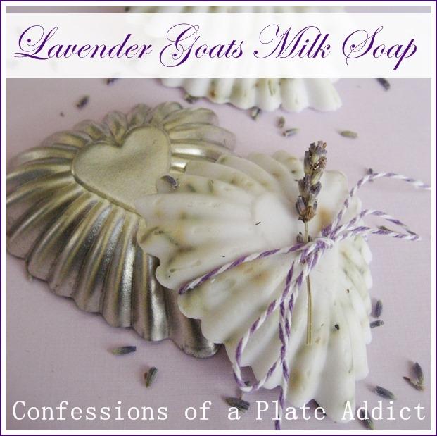 CONFESSIONS OF A PLATE ADDICT Lavender Goats Milk Soap