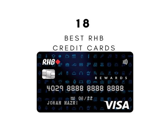 18 Kad Kredit RHB Bank Paling Popular