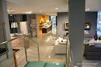 Panoramica degli arredi moderni per il soggiorno