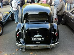 Citroen Traction 15-Six malle 1955