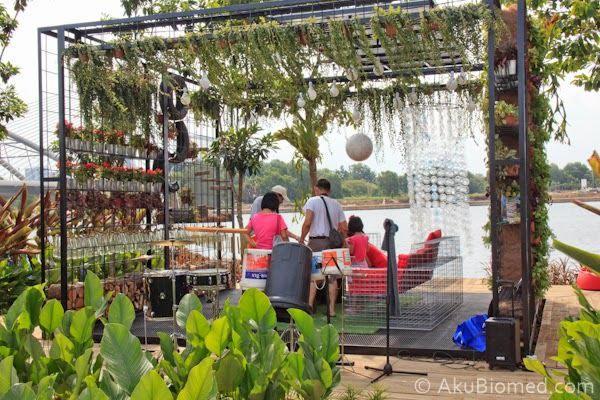 Urban Garden; Green Cubism - Alam Flora Sdn Bhd