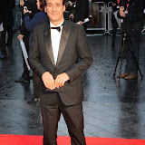 WWW.ENTSIMAGES.COM -   Alexandre Desplat  arriving at    58th BFI LFF - The Imitation Game - opening film at Odeon Leicester Square, London October 8th 2014A biopic of Alan Turing, which opens this year's BFI London Film Festival.                                                    Photo Mobis Photos/OIC 0203 174 1069