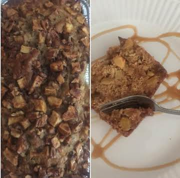 Caramel Apple Pecan Bread