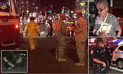 Explosion rocks Manhattan 25 injured
