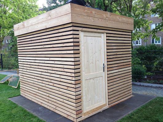 gartenhaus l rche rhombus my blog. Black Bedroom Furniture Sets. Home Design Ideas